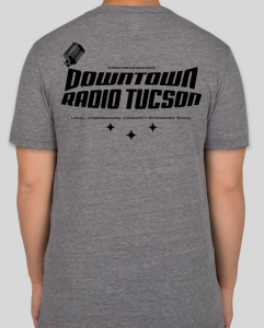 DTR t-shirt back